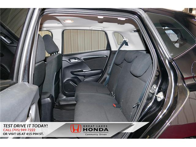 2015 Honda Fit  (Stk: HP581) in Sault Ste. Marie - Image 12 of 25