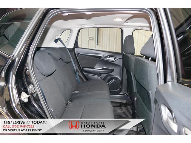 2015 Honda Fit  (Stk: HP581) in Sault Ste. Marie - Image 14 of 25