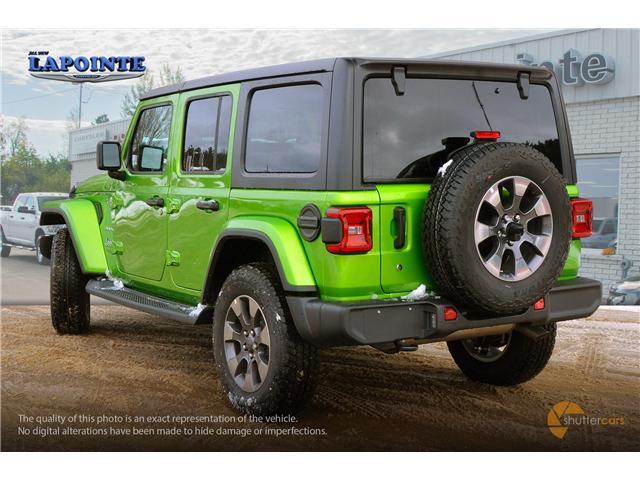 2018 Jeep Wrangler Unlimited Sahara (Stk: 18340) in Pembroke - Image 4 of 20