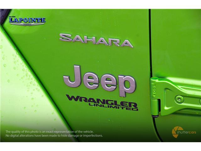 2018 Jeep Wrangler Unlimited Sahara (Stk: 18340) in Pembroke - Image 6 of 20