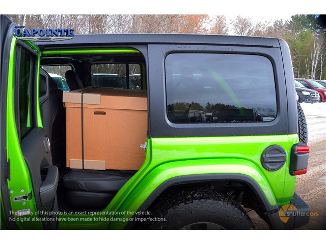 2018 Jeep Wrangler Unlimited Sahara (Stk: 18340) in Pembroke - Image 8 of 20