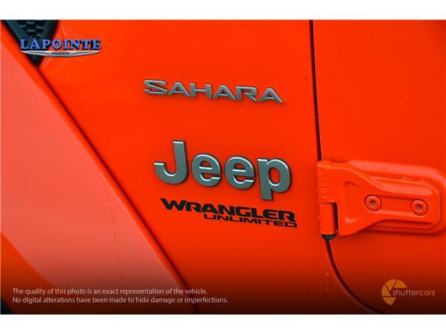 2018 Jeep Wrangler Unlimited Sahara (Stk: 18349) in Pembroke - Image 6 of 20