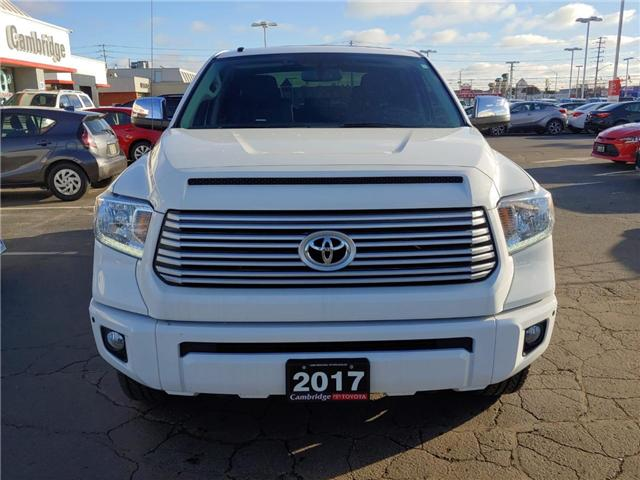 2017 Toyota Tundra  (Stk: P0059480) in Cambridge - Image 3 of 13