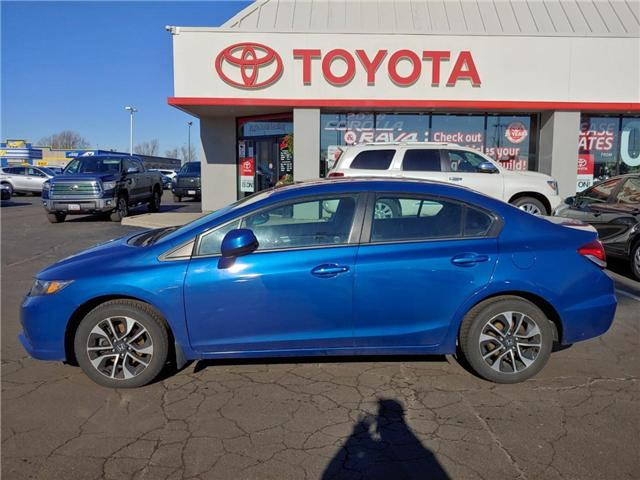 2013 Honda Civic EX (Stk: 1811901) in Cambridge - Image 1 of 13