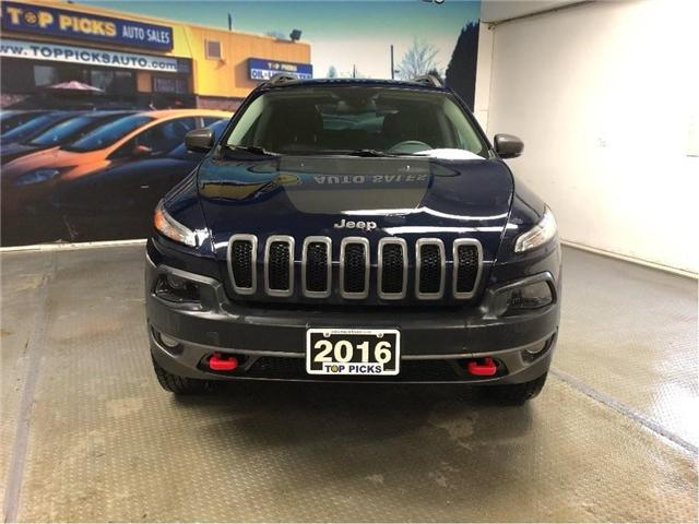 2016 Jeep Cherokee Trailhawk (Stk: 358695) in NORTH BAY - Image 2 of 17