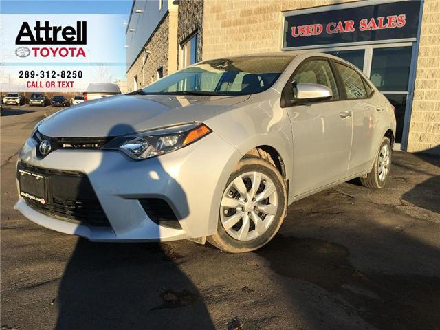 2014 Toyota Corolla LE KEYLESS ENTRY, HEATED SEATS, BACKUP CAMERA, BLU (Stk: 42684A) in Brampton - Image 1 of 24