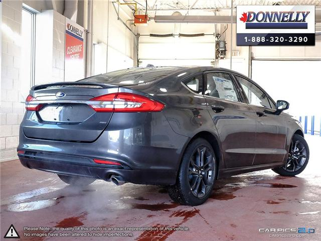 2018 Ford Fusion SE (Stk: CLDU5958) in Ottawa - Image 4 of 28
