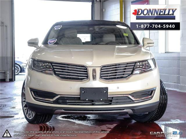 2018 Lincoln MKX Reserve (Stk: PLDU5954) in Ottawa - Image 2 of 27