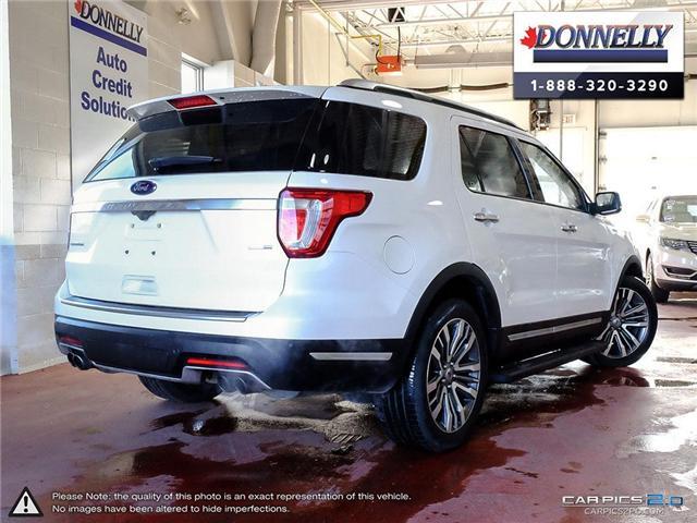 2018 Ford Explorer Platinum (Stk: PLDU5955) in Ottawa - Image 4 of 28