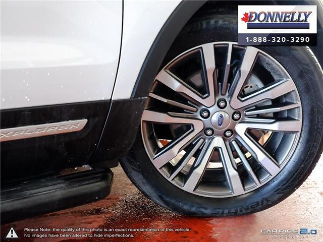 2018 Ford Explorer Platinum (Stk: PLDU5955) in Ottawa - Image 6 of 28