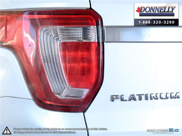 2018 Ford Explorer Platinum (Stk: PLDU5955) in Ottawa - Image 12 of 28