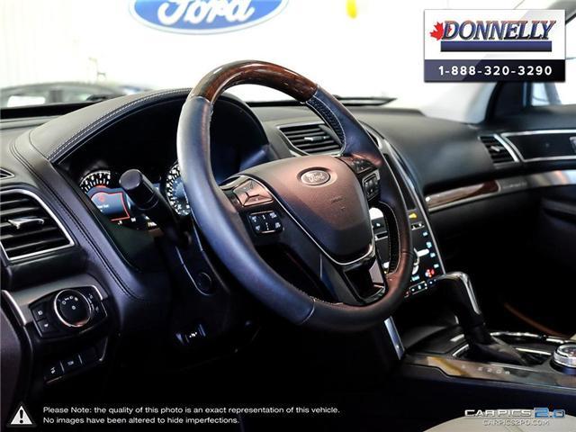 2018 Ford Explorer Platinum (Stk: PLDU5955) in Ottawa - Image 13 of 28