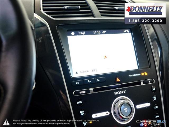 2018 Ford Explorer Platinum (Stk: PLDU5955) in Ottawa - Image 20 of 28
