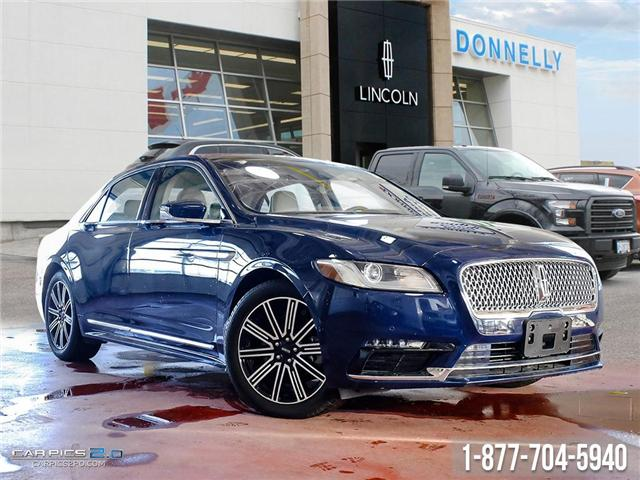 2018 Lincoln Continental Reserve (Stk: PLDU5956) in Ottawa - Image 1 of 27