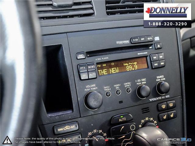 2004 Volvo S60 T5 (Stk: PBWDUR5910B) in Ottawa - Image 19 of 28