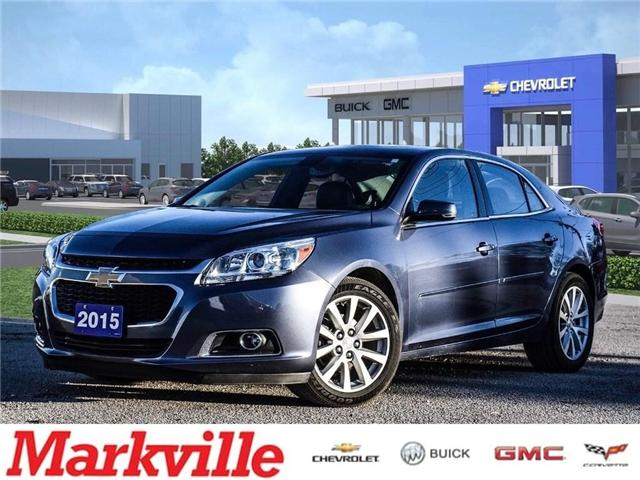 2015 Chevrolet Malibu 2LT-LEATHER-GM CERTIFIED PRE-OWNED- 1 OWNER TRADE (Stk: 391858A) in Markham - Image 1 of 25