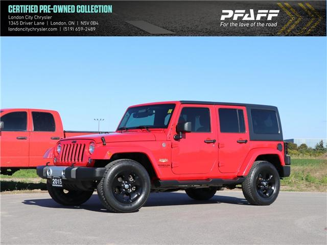 2015 Jeep Wrangler Unlimited  (Stk: 8595A) in London - Image 1 of 19