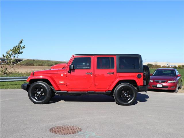 2015 Jeep Wrangler Unlimited  (Stk: 8595A) in London - Image 2 of 19