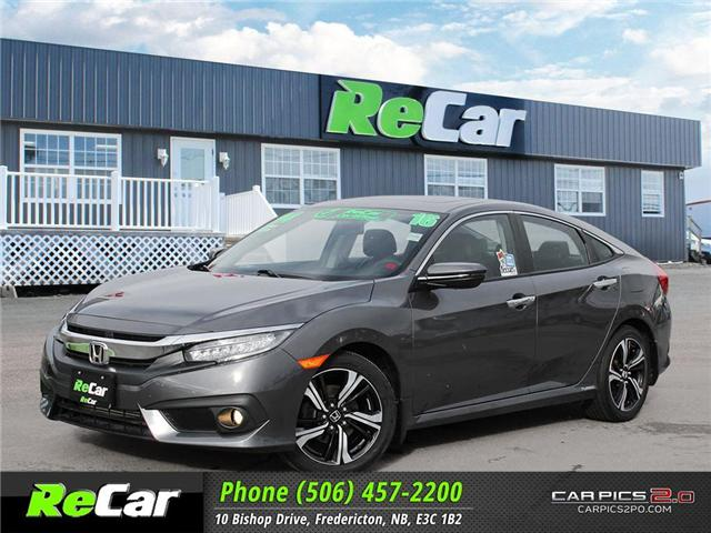 2016 Honda Civic Touring (Stk: 181319A) in Fredericton - Image 1 of 27