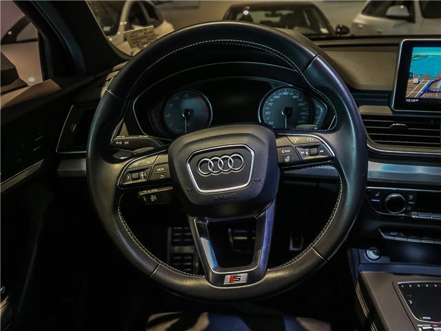 2018 Audi SQ5 3.0T Progressiv (Stk: P2992) in Toronto - Image 10 of 25