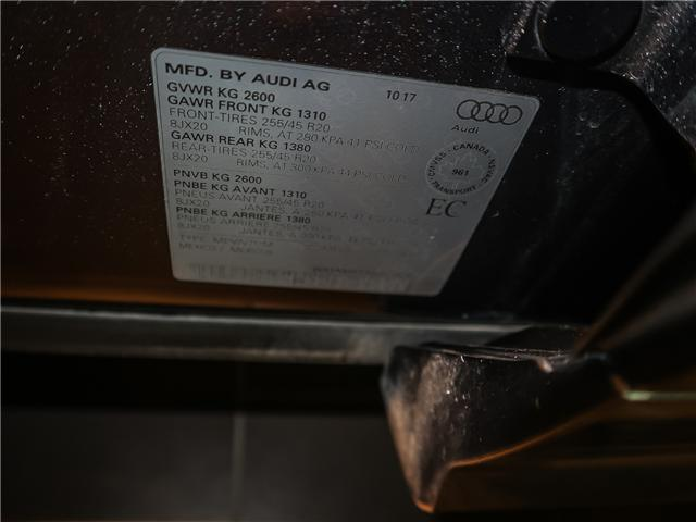 2018 Audi SQ5 3.0T Progressiv (Stk: P2992) in Toronto - Image 21 of 25