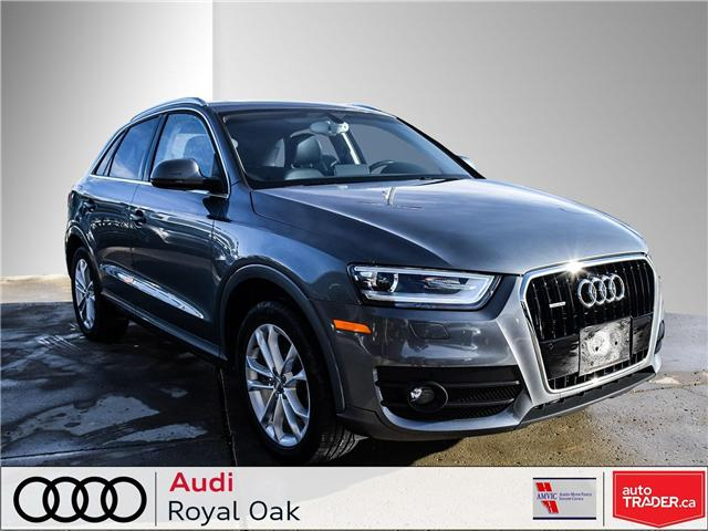 2015 Audi Q3 2.0T Technik (Stk: U0722) in Calgary - Image 1 of 26