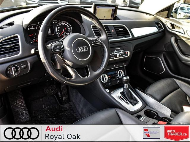 2015 Audi Q3 2.0T Technik (Stk: U0722) in Calgary - Image 10 of 26