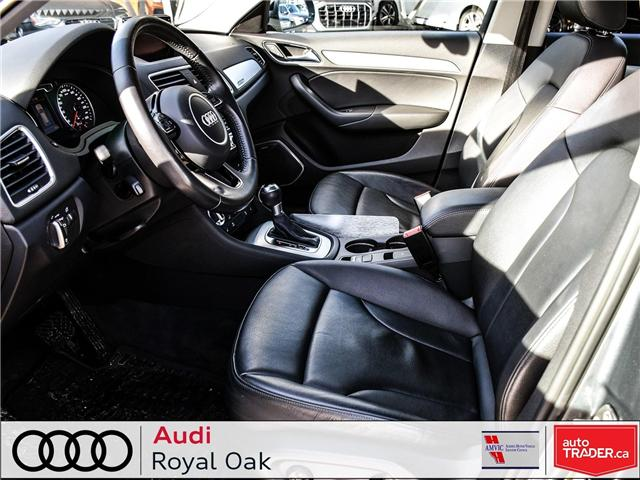2015 Audi Q3 2.0T Technik (Stk: U0722) in Calgary - Image 11 of 26