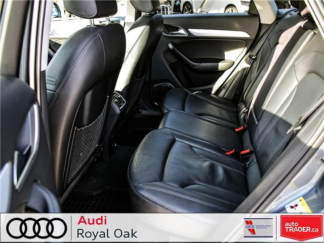 2015 Audi Q3 2.0T Technik (Stk: U0722) in Calgary - Image 12 of 26