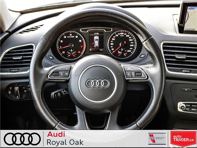2015 Audi Q3 2.0T Technik (Stk: U0722) in Calgary - Image 14 of 26