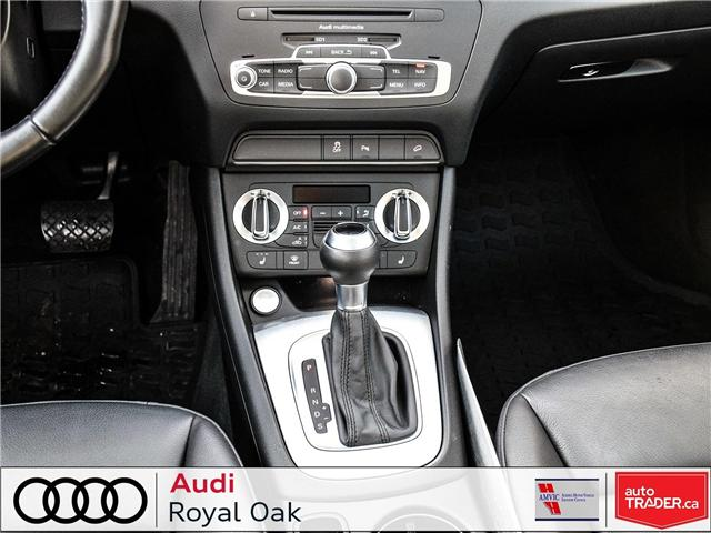 2015 Audi Q3 2.0T Technik (Stk: U0722) in Calgary - Image 15 of 26