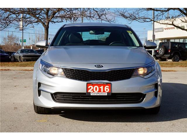2016 Kia Optima LX+| REAR CAM| 17in WHEELS| DRIVER MEMORY SEAT (Stk: J1190A) in Burlington - Image 2 of 30