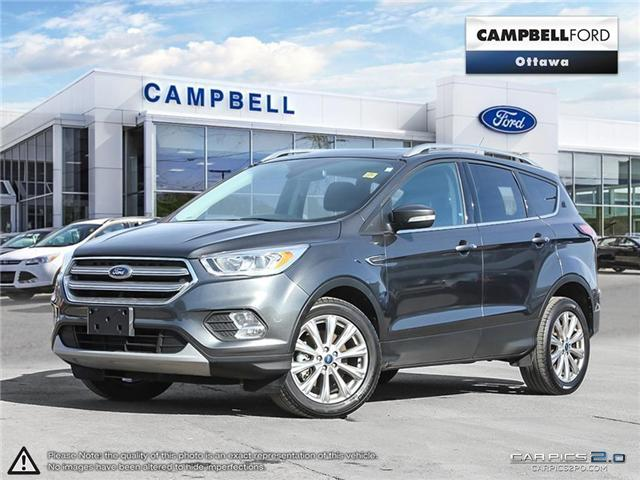 2017 Ford Escape Titanium  DEAL OF THE WEEK (Stk: 938870) in Ottawa - Image 1 of 27