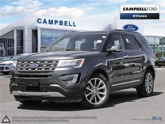 2017 Ford Explorer Limited PRICED FOR IMMEDIATE SALE (Stk: 940890) in Ottawa - Image 1 of 28