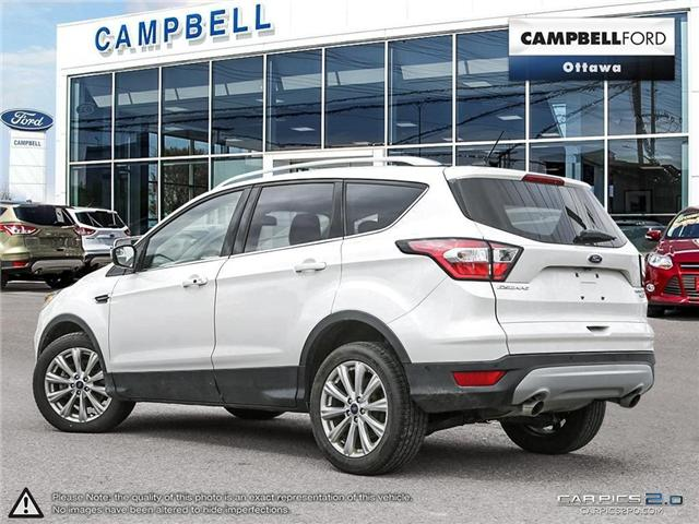 2018 Ford Escape Titanium AWD-NAV-LEATHER-POWER ROOF (Stk: 941810) in Ottawa - Image 4 of 28