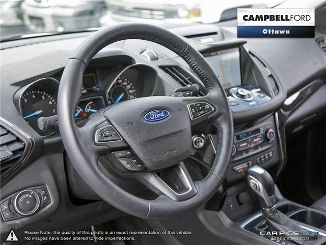 2018 Ford Escape Titanium AWD-NAV-LEATHER-POWER ROOF (Stk: 941810) in Ottawa - Image 12 of 28