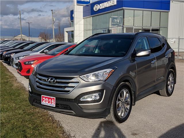 2016 Hyundai Santa Fe Sport 2.0T Limited (Stk: 80166A) in Goderich - Image 1 of 16