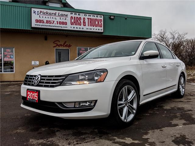 2015 Volkswagen Passat 1.8 TSI Highline (Stk: ) in Bolton - Image 1 of 27