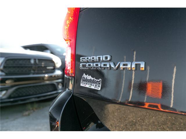 2015 Dodge Grand Caravan SE/SXT (Stk: AG0284AB) in Abbotsford - Image 10 of 25