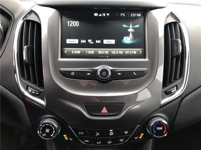 2018 Chevrolet Cruze LT Auto (Stk: ) in Kemptville - Image 17 of 27