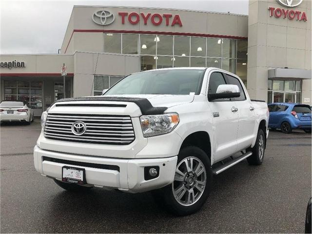 2016 Toyota Tundra Platinum (Stk: P2190) in Bowmanville - Image 1 of 22