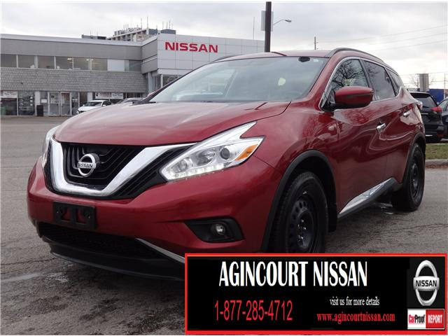 2016 Nissan Murano SV (Stk: JN188089A) in Scarborough - Image 1 of 22