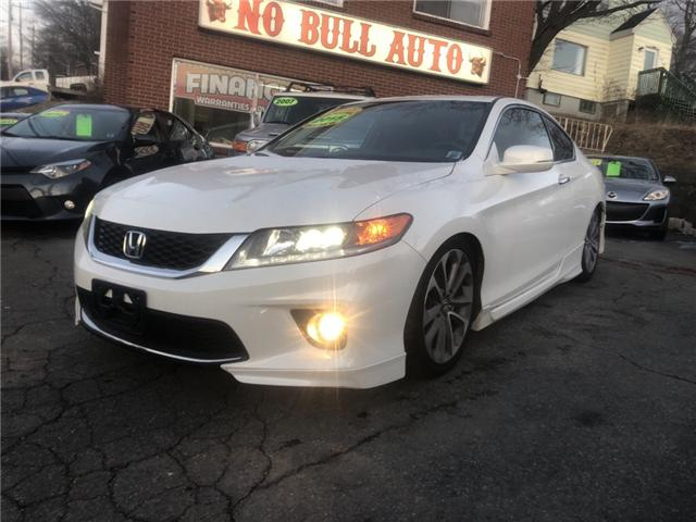 2015 Honda Accord EX-L-NAVI V6 (Stk: ) in Dartmouth - Image 1 of 18