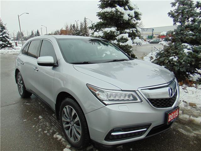 2015 Acura MDX Technology Package (Stk: 504106T) in Brampton - Image 1 of 22