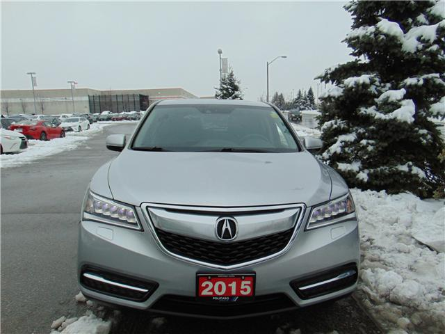2015 Acura MDX Technology Package (Stk: 504106T) in Brampton - Image 2 of 22