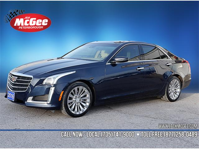 2016 Cadillac CTS 3.6L Luxury Collection (Stk: 17131A) in Peterborough - Image 1 of 18