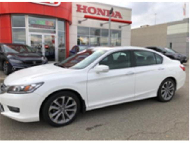 2015 Honda Accord Sport (Stk: P6986) in Georgetown - Image 1 of 8