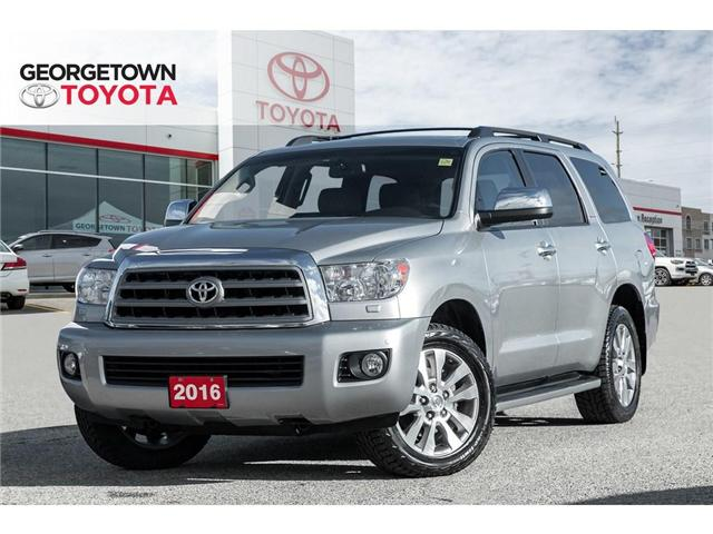 2016 Toyota Sequoia Limited 5.7L V8 (Stk: 16-31376) in Georgetown - Image 1 of 23
