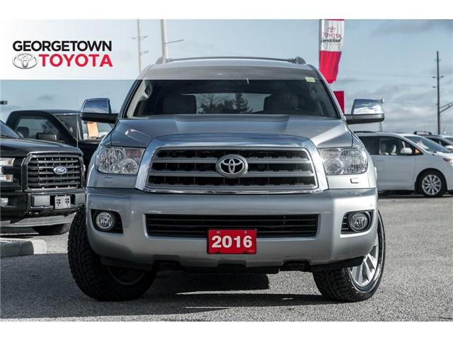 2016 Toyota Sequoia Limited 5.7L V8 (Stk: 16-31376) in Georgetown - Image 2 of 23