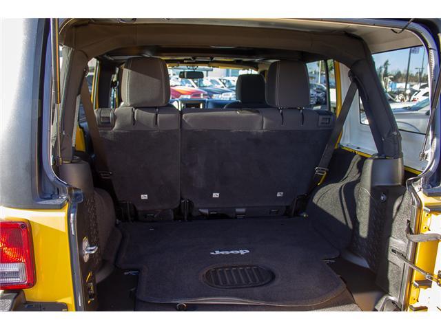 2015 Jeep Wrangler Unlimited Sahara (Stk: EE899760) in Surrey - Image 7 of 20